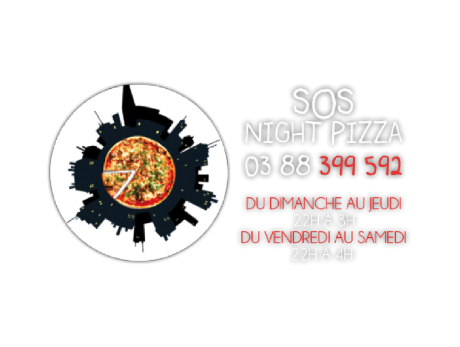 SOS Night Pizza